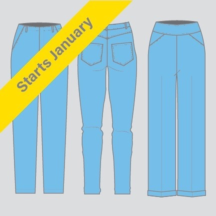Pants! Pants! Pants! Register now for Patternmaking: Pants. Classes are Wednesday, January 16 - March 20 from 6:30-8:30 pm. Link in bio. Draft a relaxed pant, a fitted jean and a knit legging or stretch pant. Incorporate ready-to-wear details like pleats, flares, zipper flies, gussets, and different waistline finishes. Pants are sewn from sample fabric for fit in class. Follow @garmentworksschool for tips, updates and tutorials. . . . . . . . . . . . #patternmaking #patterndrafting #apparelmanufacturing #productdevelopment #garmentconstruction #garmentsewing #dressmaking #tailoring #sewistsofinstagram #isew #memadewardrobe #sewcialists #memadeeverday #memade #handmadeclothing #fashionbusiness #fashionportfolio #fashionbiz #fashioncareer #fashionstartup #fashionjob #wewingmachine #industrialsewingmachine #Industrialsewing #menwhosew #pantspantspants #garmentworks #garmentsthatwork #berkeleyfashion