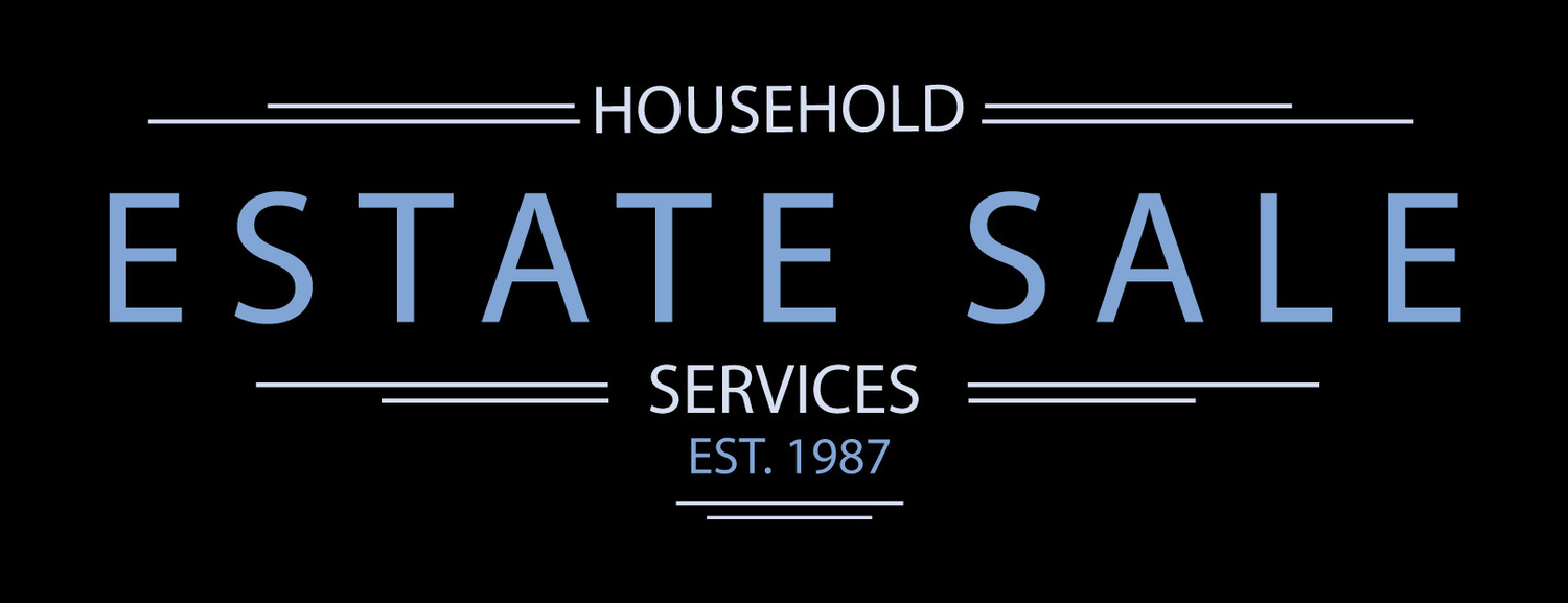 Household Estate Sale Services Sat 4-25