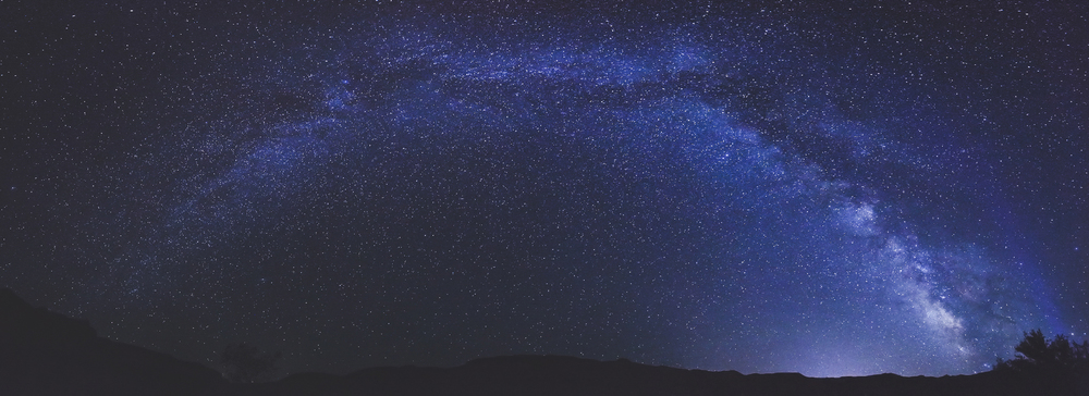 The Milky Way over Arches Nation Park