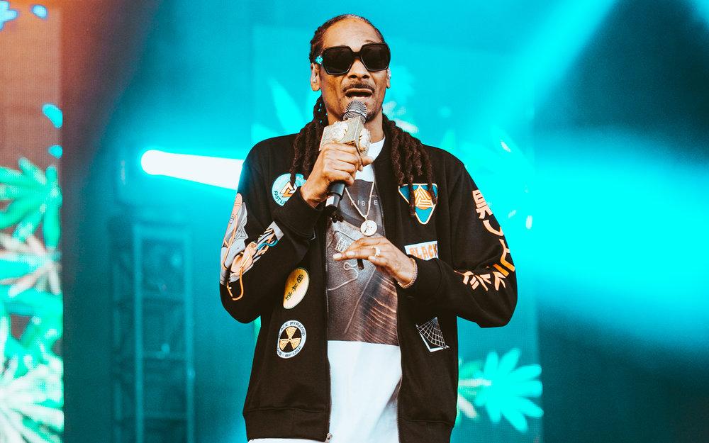 Snoop Dogg - Tortuga Music Festival - April 2018. © Alex Liscio.