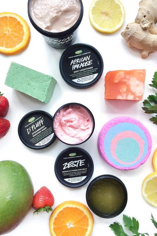 Lush Natural Beauty Products