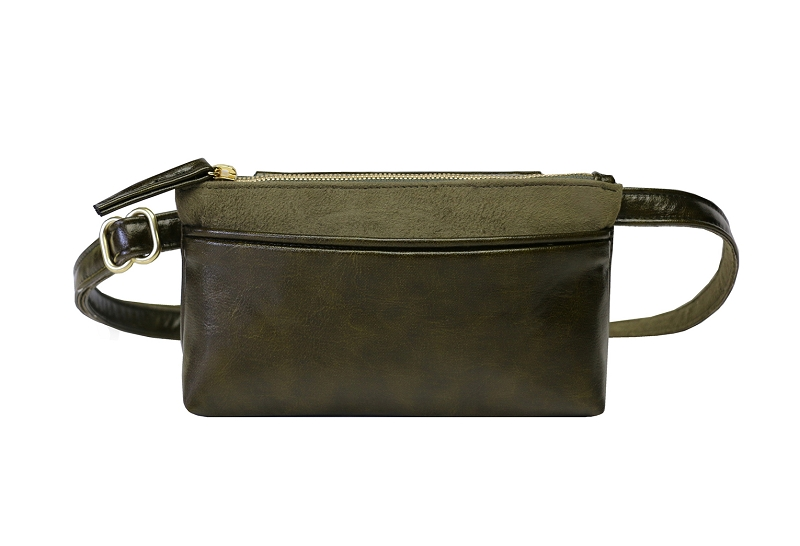 Pocket Bum Bag in Olive