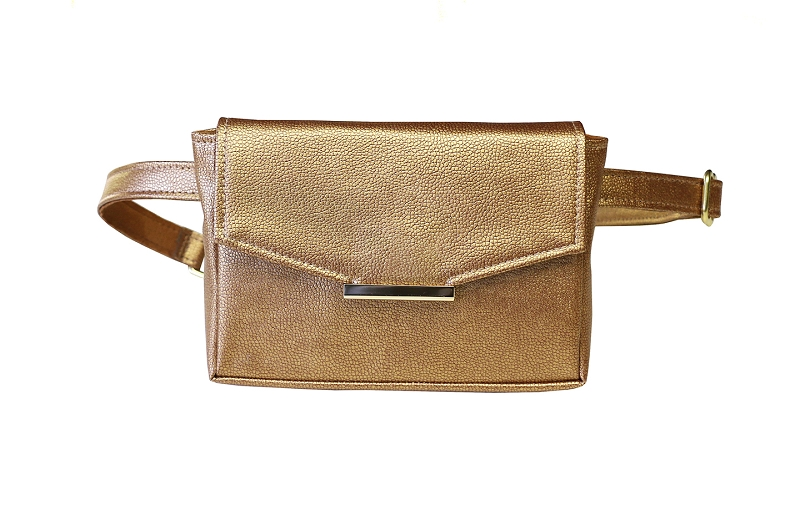 Convertible Belt Bag in Bronze