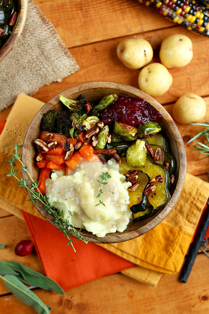 Roasted Thanksgiving Bowl