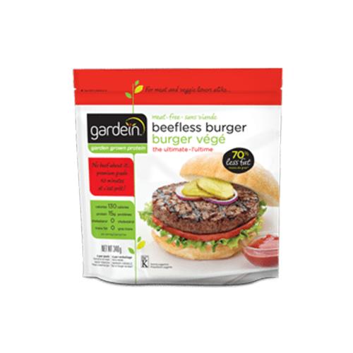 beefless burger