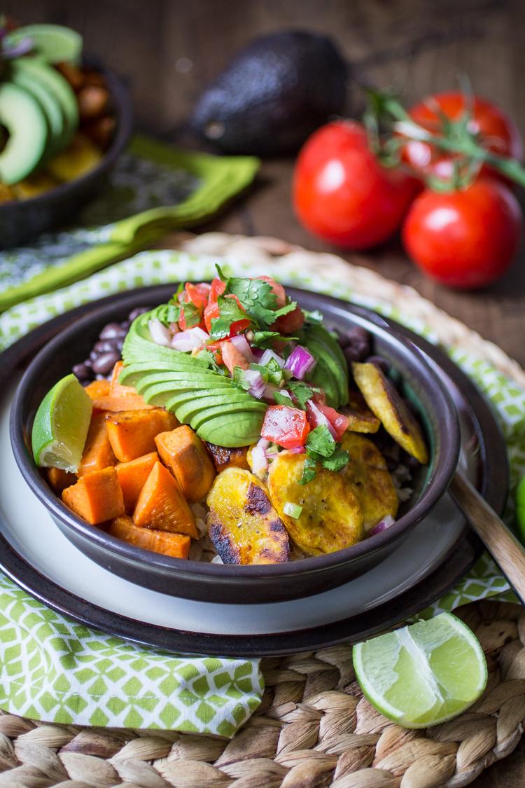 Vegan Cuban Bowls