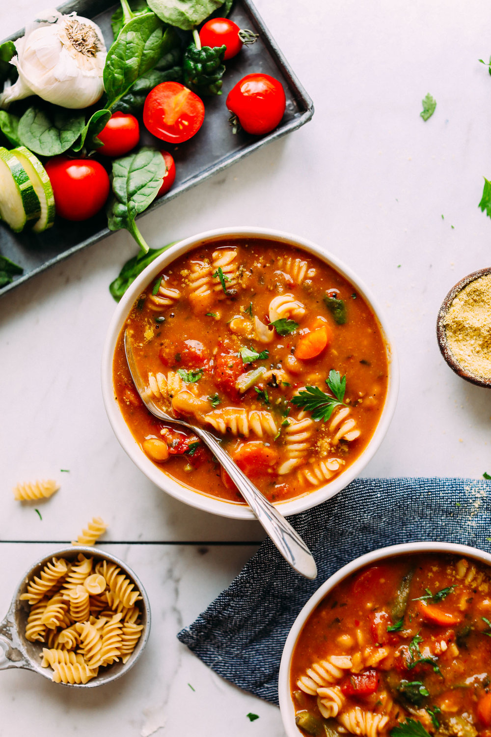 1-Pot Vegan Minestrone