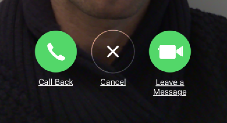 Update to leave Facetime, Video Messages.