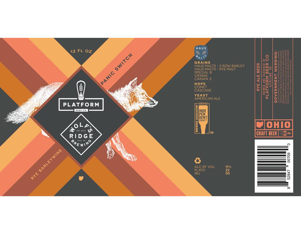 Platform Beer Co. x Wolf's Ridge Brewing Co.