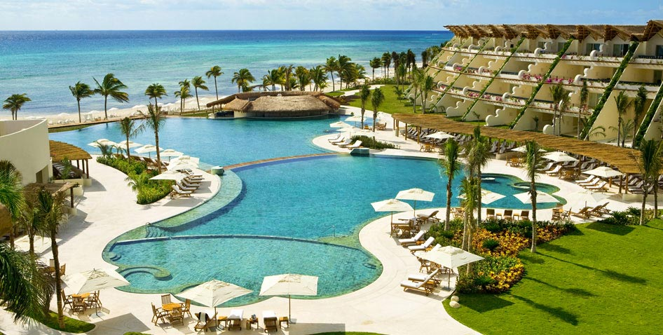 Grand Velas, Riviera Maya:  Luxury 5 diamond resort, with 3 distinct ambiences to choose from.