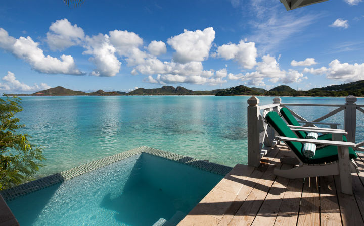 CocoBay Resort, Antigua:  An exclusive adult-only getaway on the sunset side of the island.