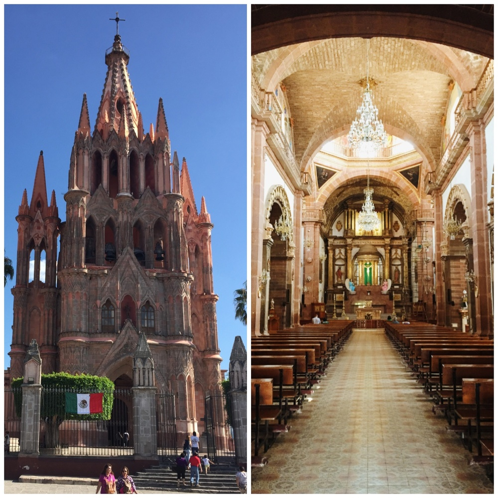 The Parroquia of San Miguel de Allende. You would be astonished at how many different shots of this place I got. In many ways, they're all unique because the color of the sky and the way the building comes to life at different times of day always was special.