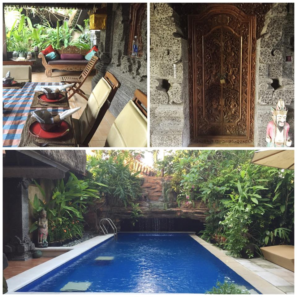 The property I stayed at in Jimbaran. I believe this next property will blow the socks off!