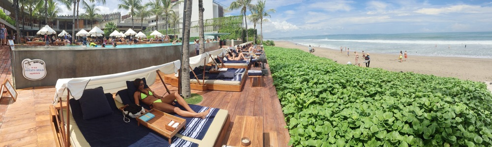 Potato Head Beach Club best beach club in Bali