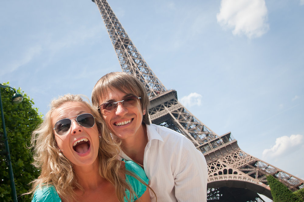 What is the cost for a honeymoon in Paris