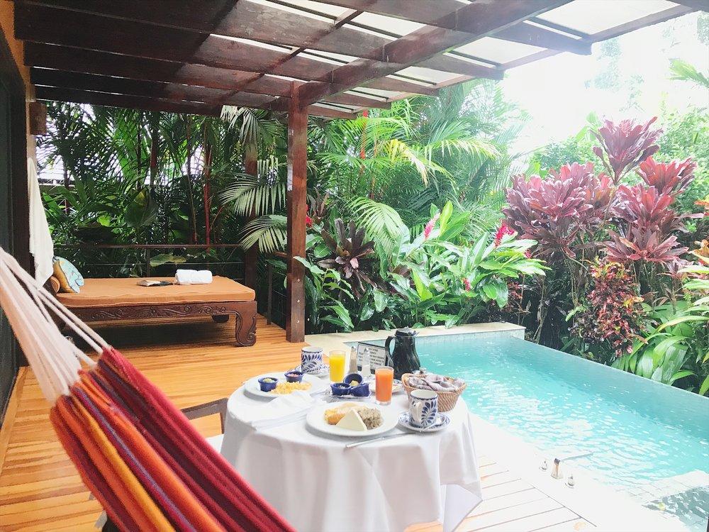 The best honeymoon resort in Costa Rica