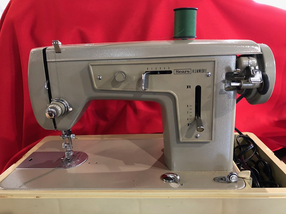 What do you think this old Kenmore sewing machine is worth? - If you guessed $2,000 - you're right! During BERNINA's Trade-In Trade-Up sale, any trade in will save you 25% off MSRP of a new BERNINA!