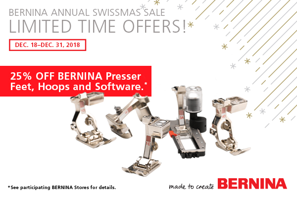 December 18 - December 31 - The sale everyone loves - 25% off feet, hoops and software. Don't miss it!