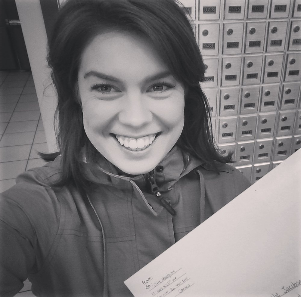 MASTERS:CHECK - HAPPIEST CUSTOMER OF THE DAY AT CANADA POST