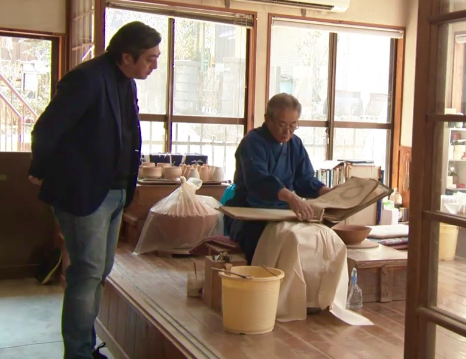From NHK World TV / Design Talks · Hiroyuki Agani, a twelfth generation pottery artist