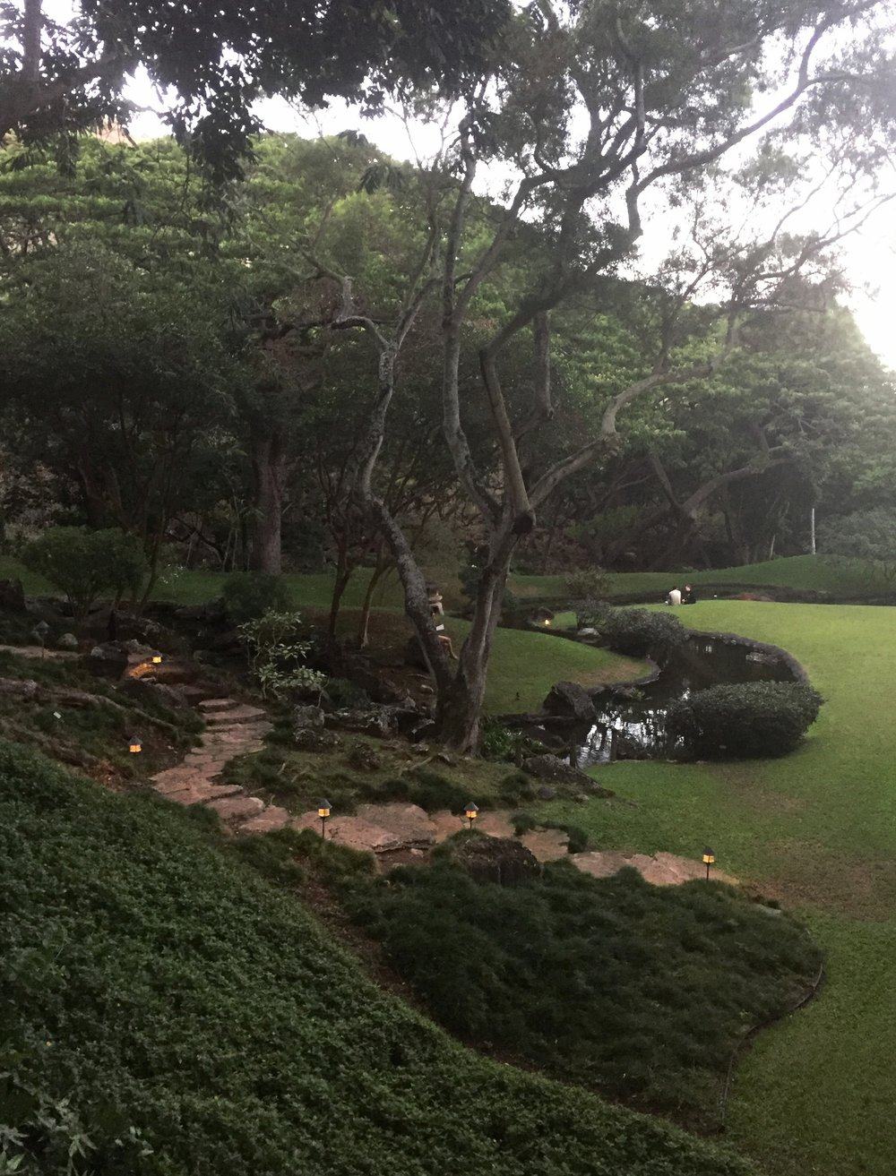 The Japanese Garden at the East West Center / University of Hawai'i
