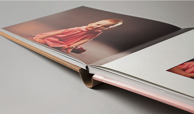 Images are printed on pages