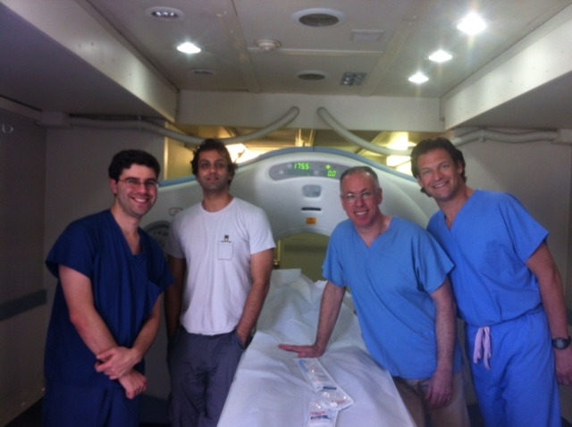 Co-founders Steve Zivin, MD and Ankur Parikh, MD along with Dedicatedvolunteers Allan Malmed, MD and Evan Oblonsky, MD