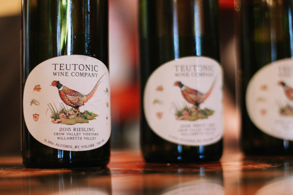 Teutonic Wine Company is an urban winery in Portland. Love seeing the variety and experimentation.