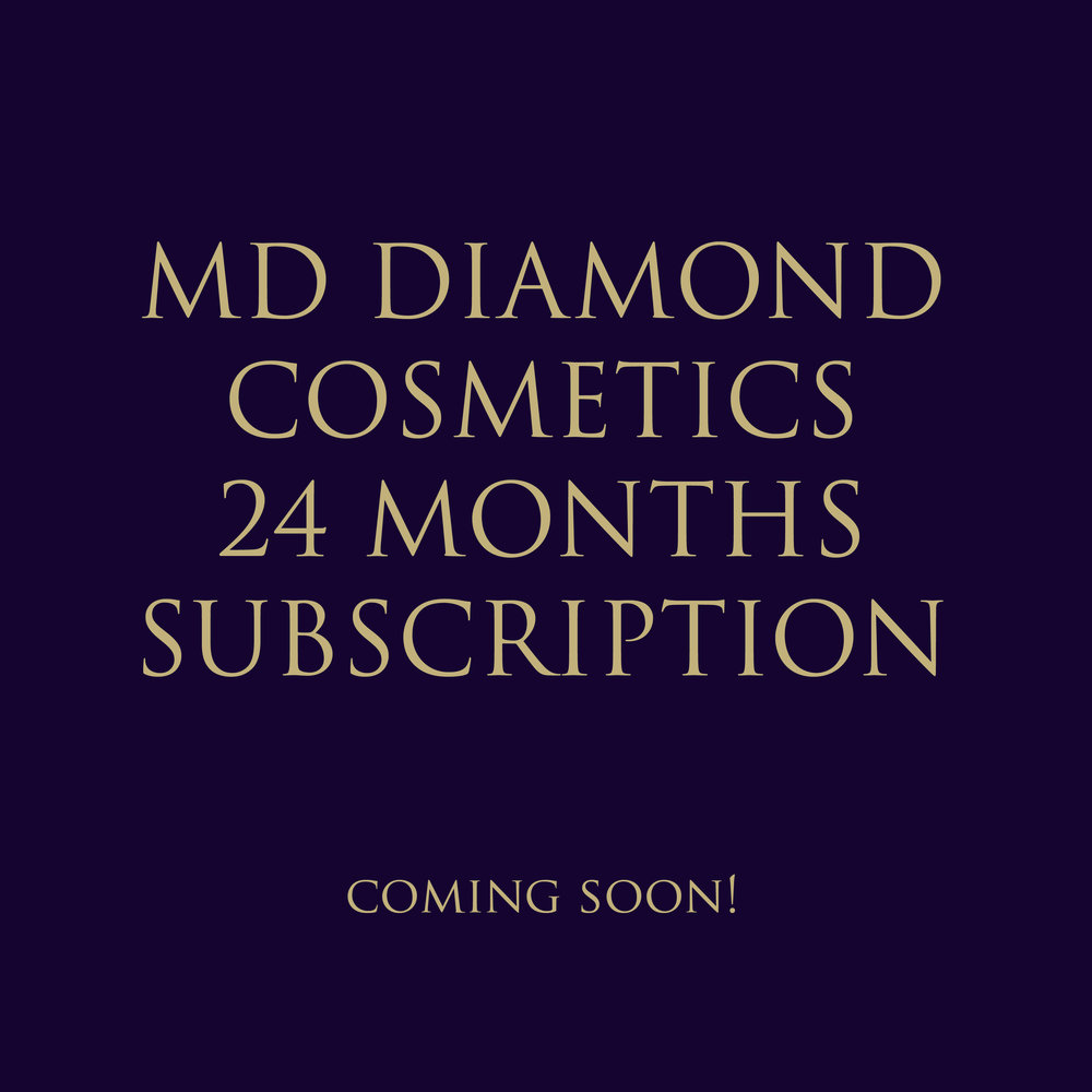 MD DIAMOND COSMETICS 24 MONTHS SUBSCRIPTION