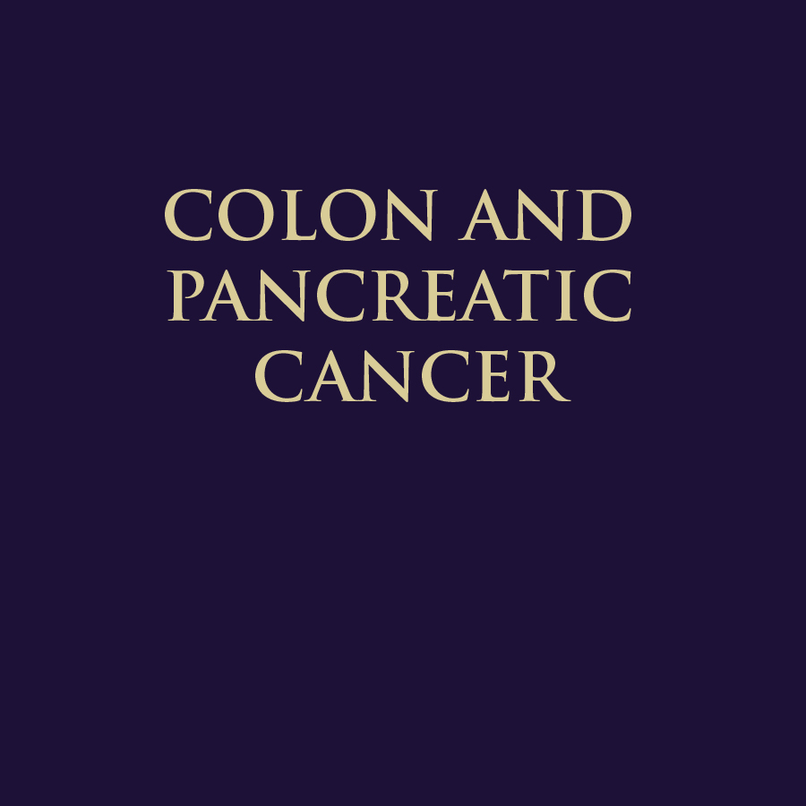 COLON & PANCREATIC CANCER