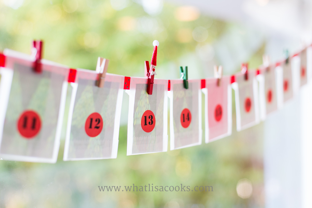 25 days of christmas activity calendar