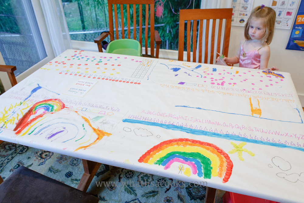 Superbe We Change Our Table Cover With The Seasons. Itu0027s A Good Span Of Time To Be  Ready To Do The Project Again, And Every Three Months The Kids Have Come Up  With ...