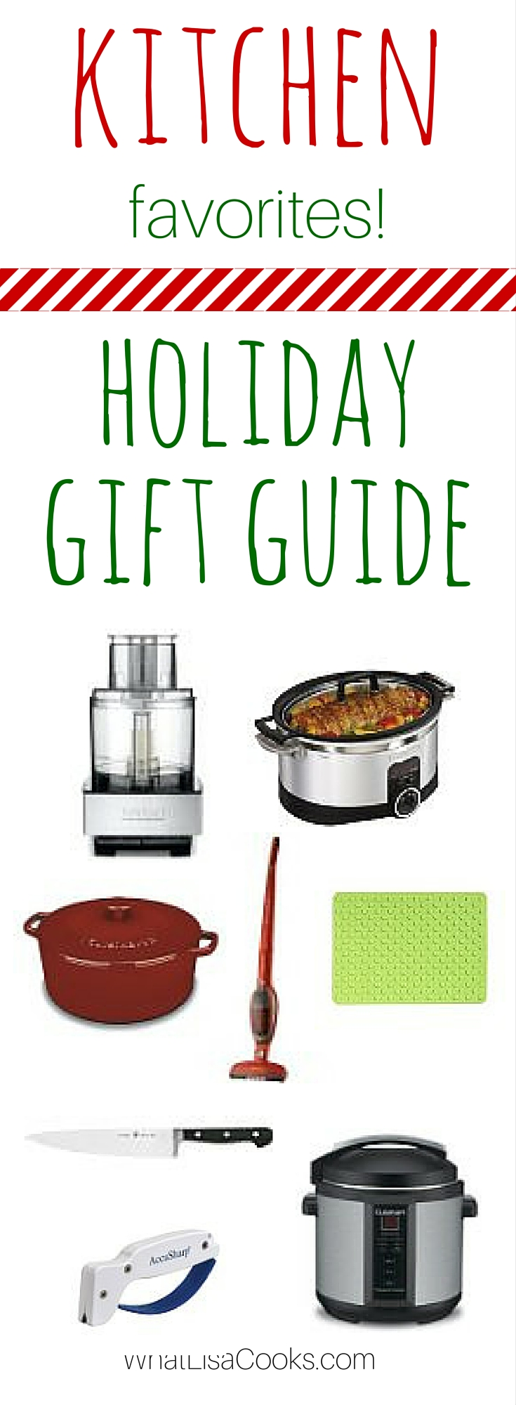 What you need on your wish list this holiday - from WhatLisaCooks