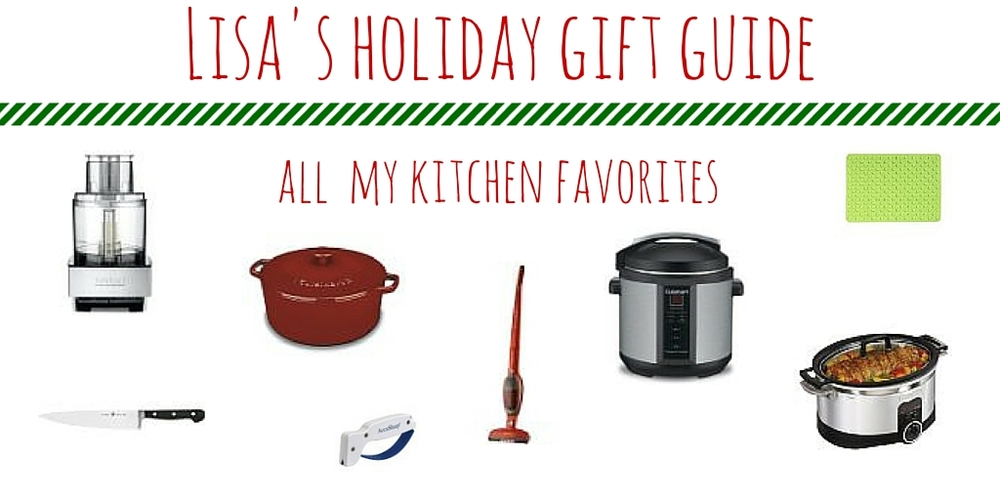 Kitchen holiday wish list from WhatLisaCooks.com