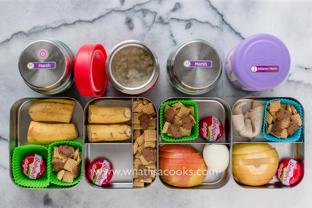 Breakfast for lunch: hot oatmeal