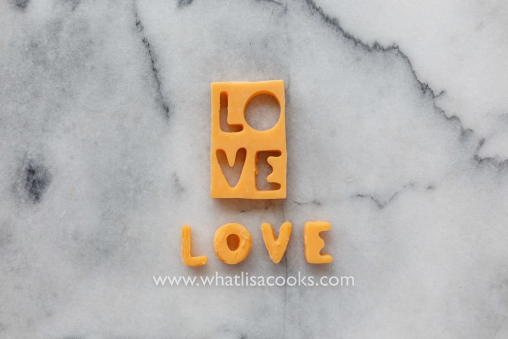 cheese = love | WhatLisaCooks.com