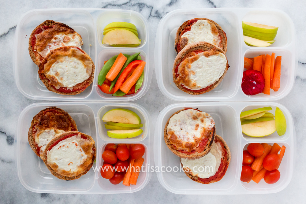 Pizza for School Lunch: from WhatLisaCooks.com