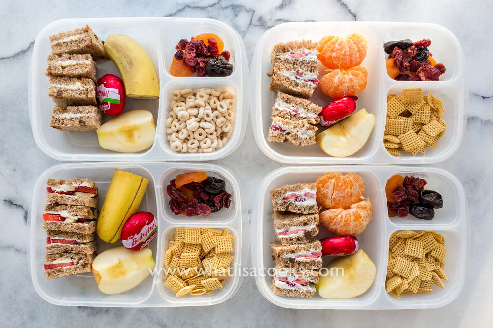 easy packed school lunch idea