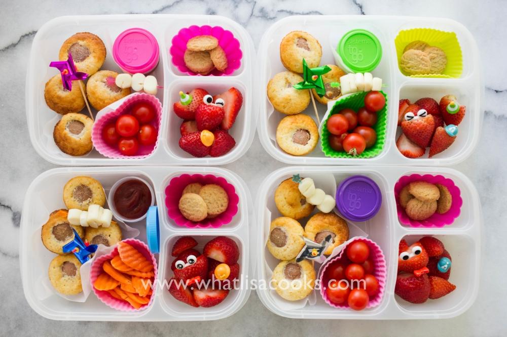 Kid favorite: corndog muffins for lunch!