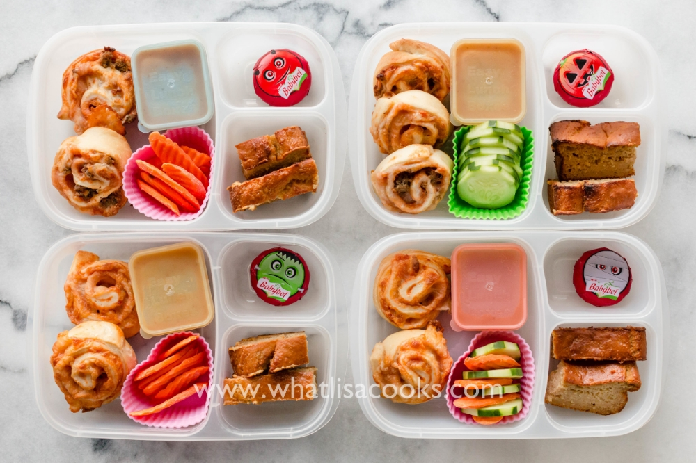 Pizza rolls for lunch - easy, and popular!