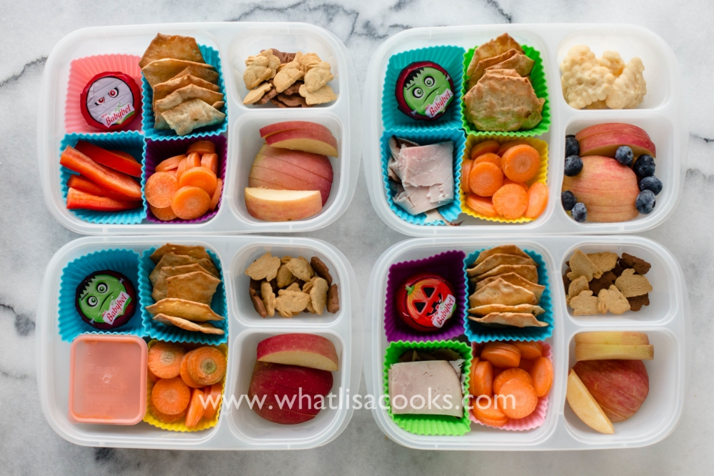 Snack box with gluten free crackers