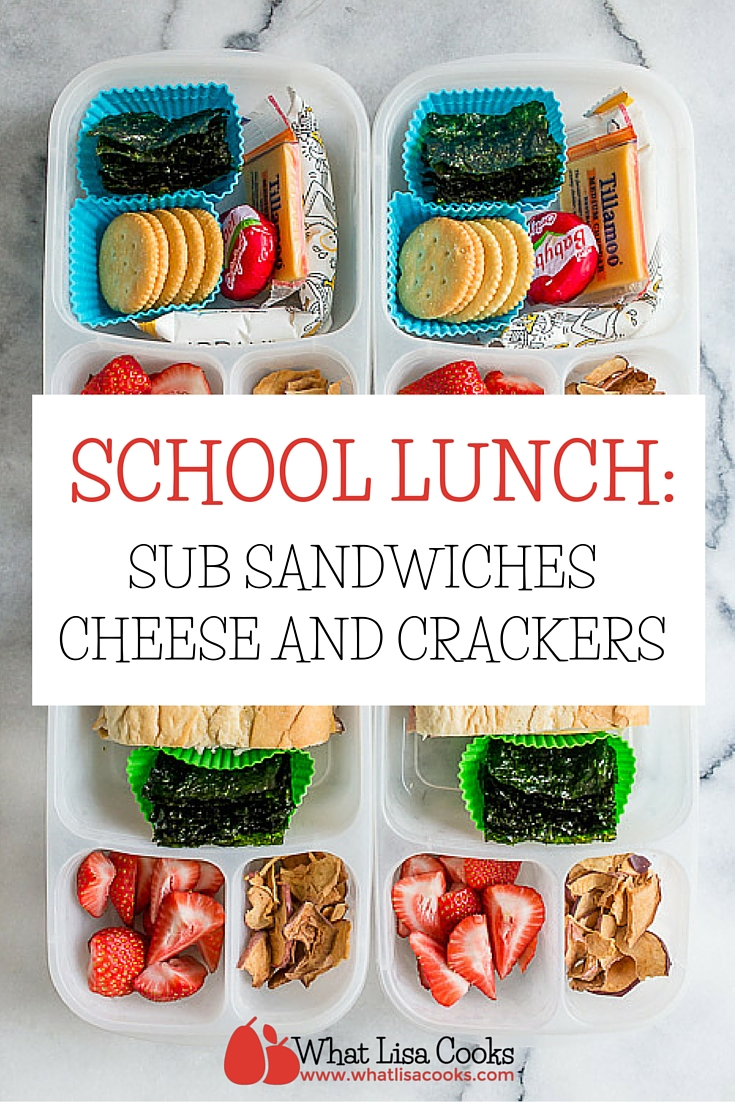 A quick and easy packed school lunch from whatlisacooks.com