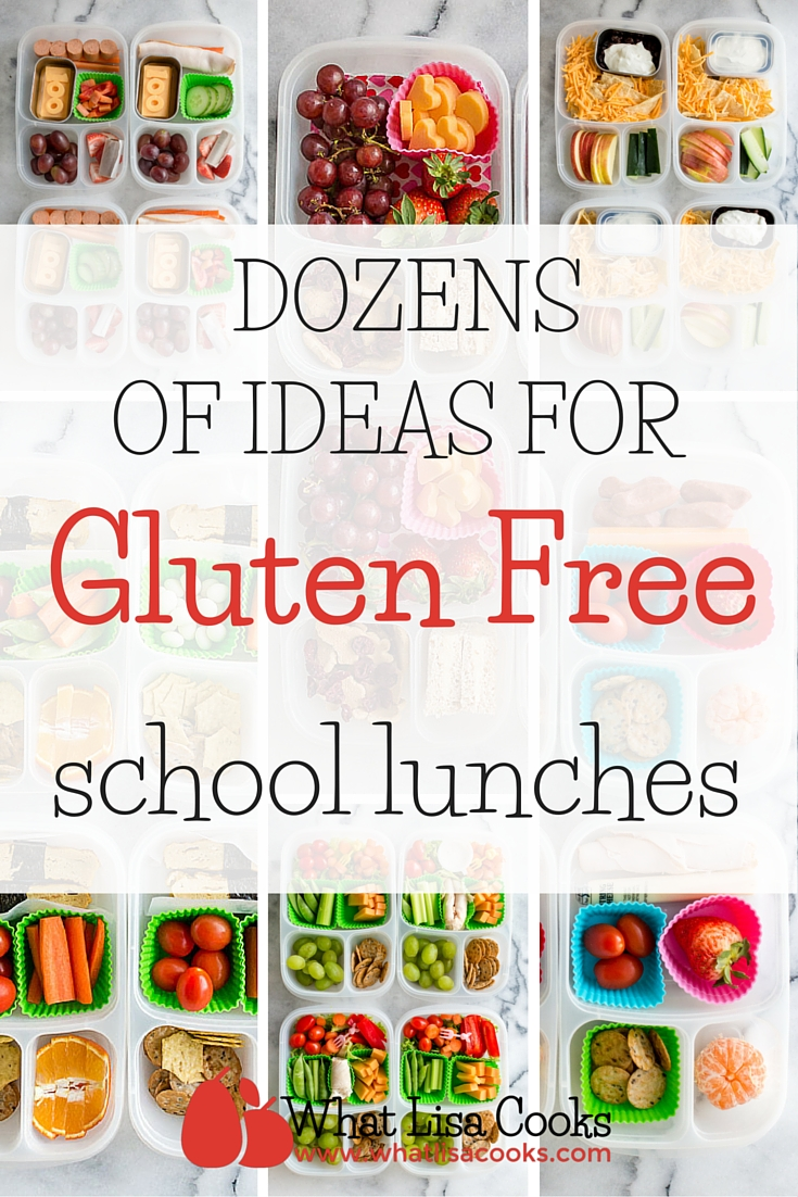 Gluten Free Lunches — What Lisa Cooks