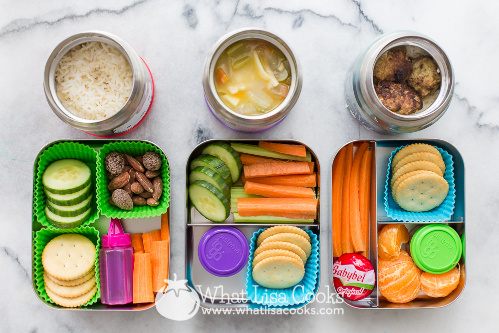 easy packed hot lunch for school - from WhatLisaCooks.com
