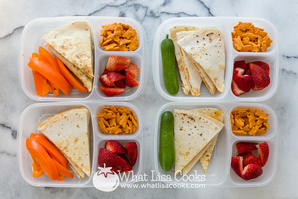 school lunch from WhatLisaCooks.com