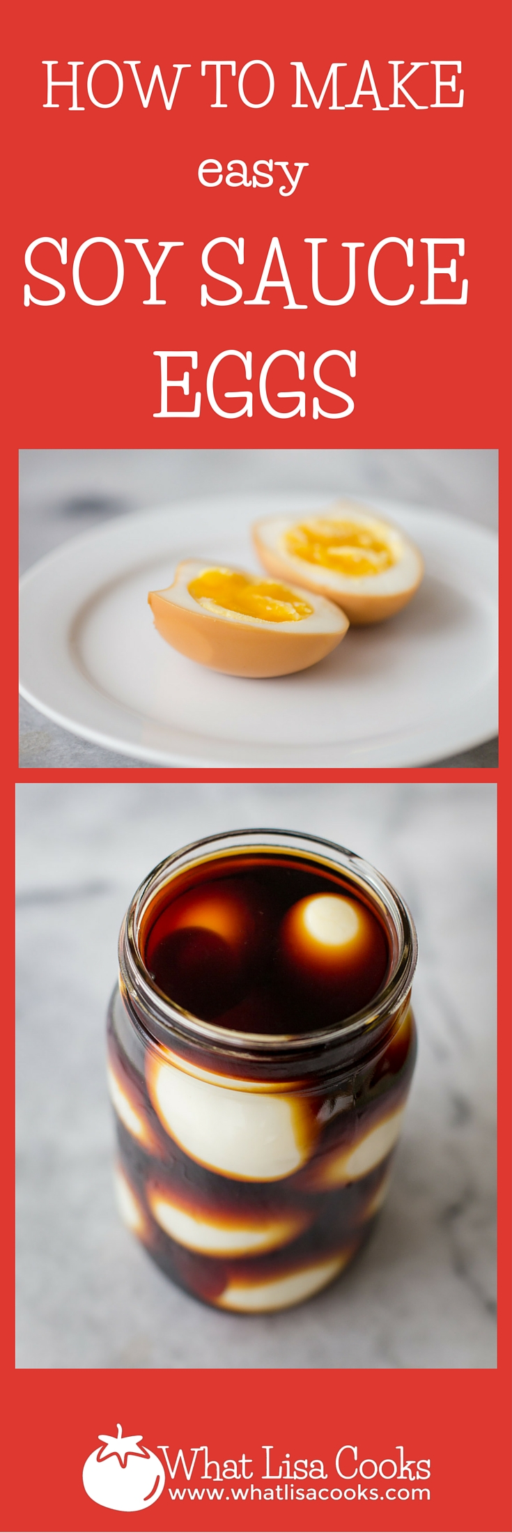 Not sure what to do with all those leftover boiled eggs from Easter? Try marinating them in soy sauce!