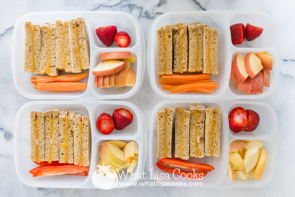 School lunch by WhatLisaCooks.com