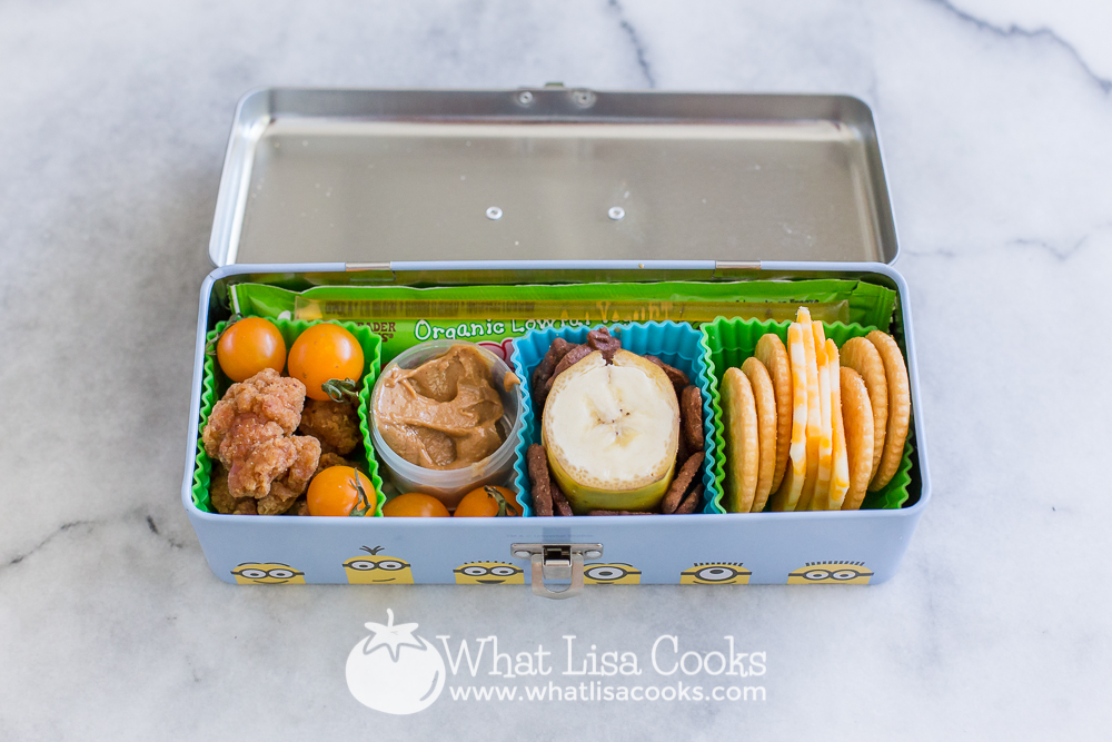 Snack box by WhatLisaCooks.com