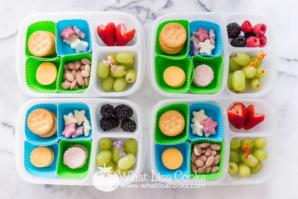 Easy homemade lunchable
