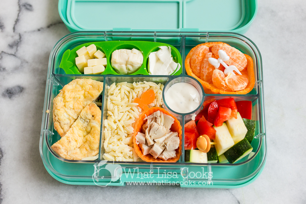 a Yumbox lunch from WhatLisaCooks.com